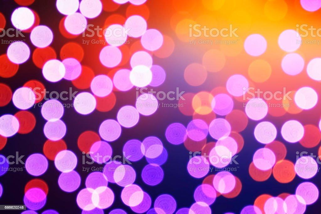 The Beautiful bokeh blur background. royalty-free stock photo