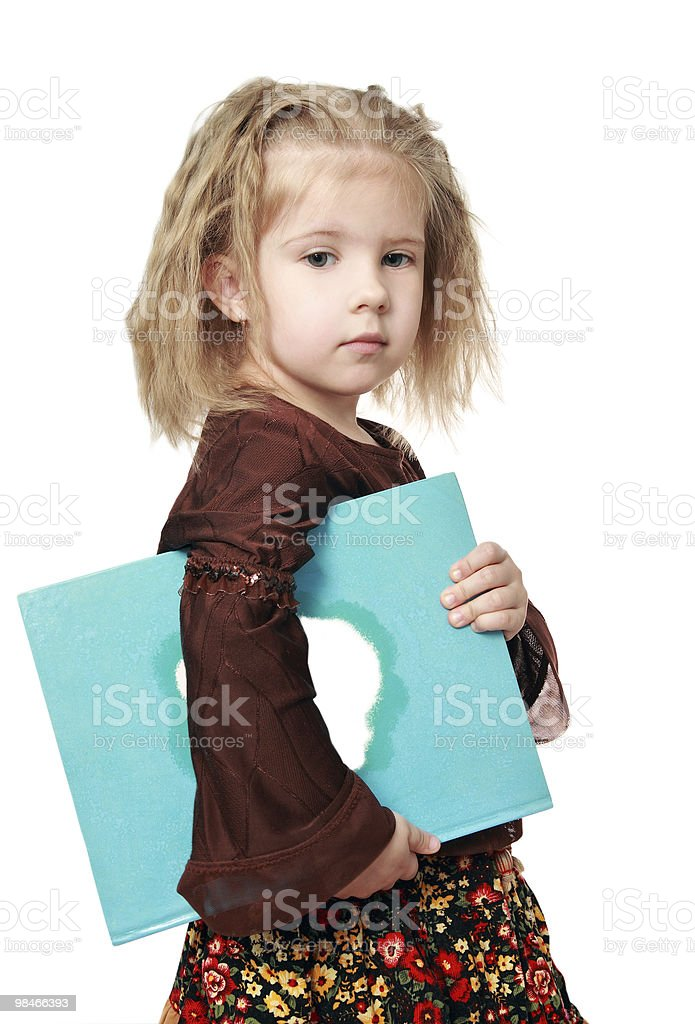 The beautiful child royalty-free stock photo