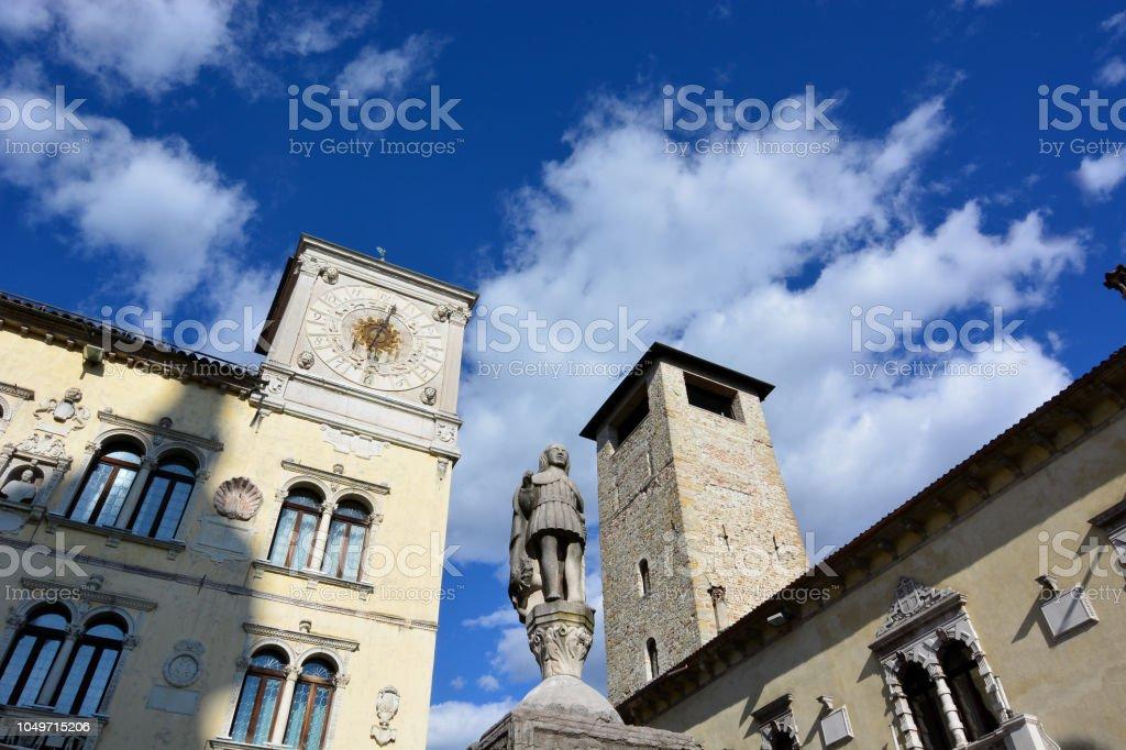 Die schöne Stadt Belluno, im Herzen der Dolomiten Venetien – Foto