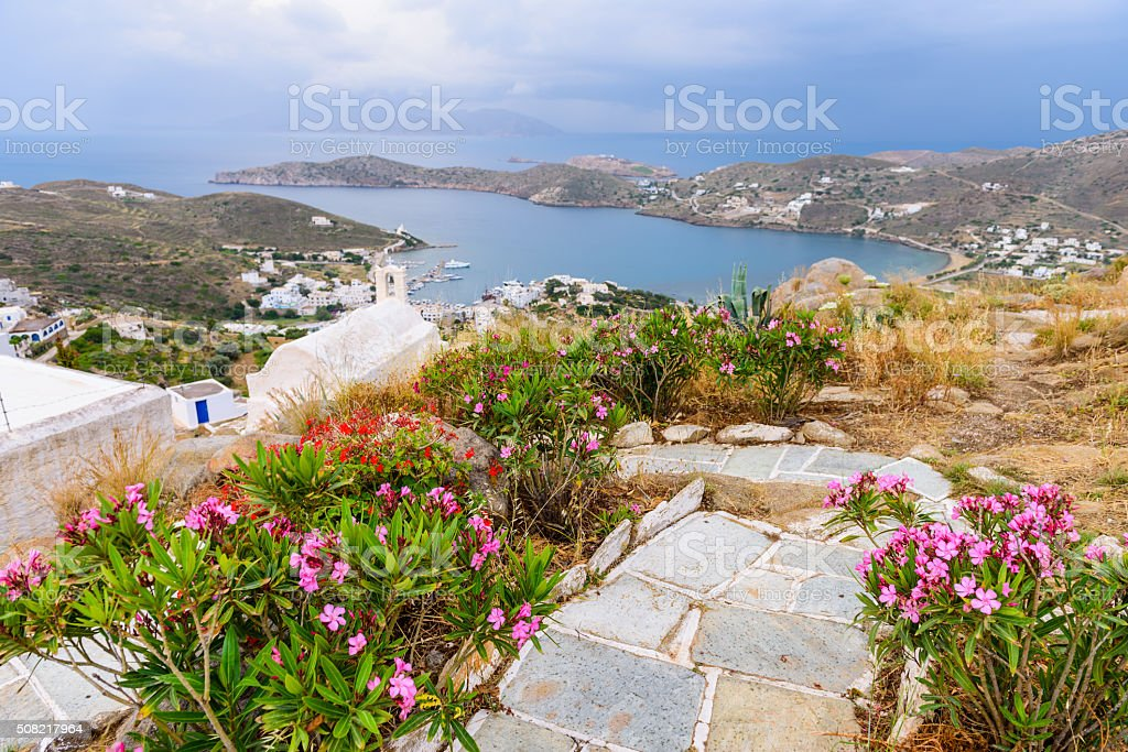 The beautiful coast stock photo