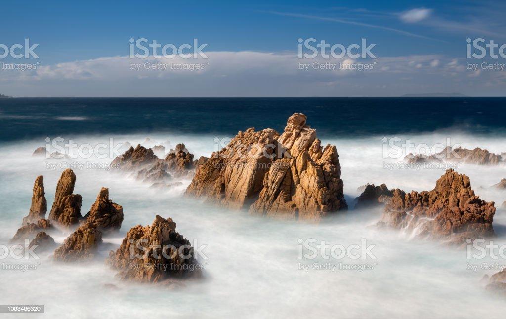Die berühmte Costa Paradiso Bucht, Sardinien, Italien – Foto