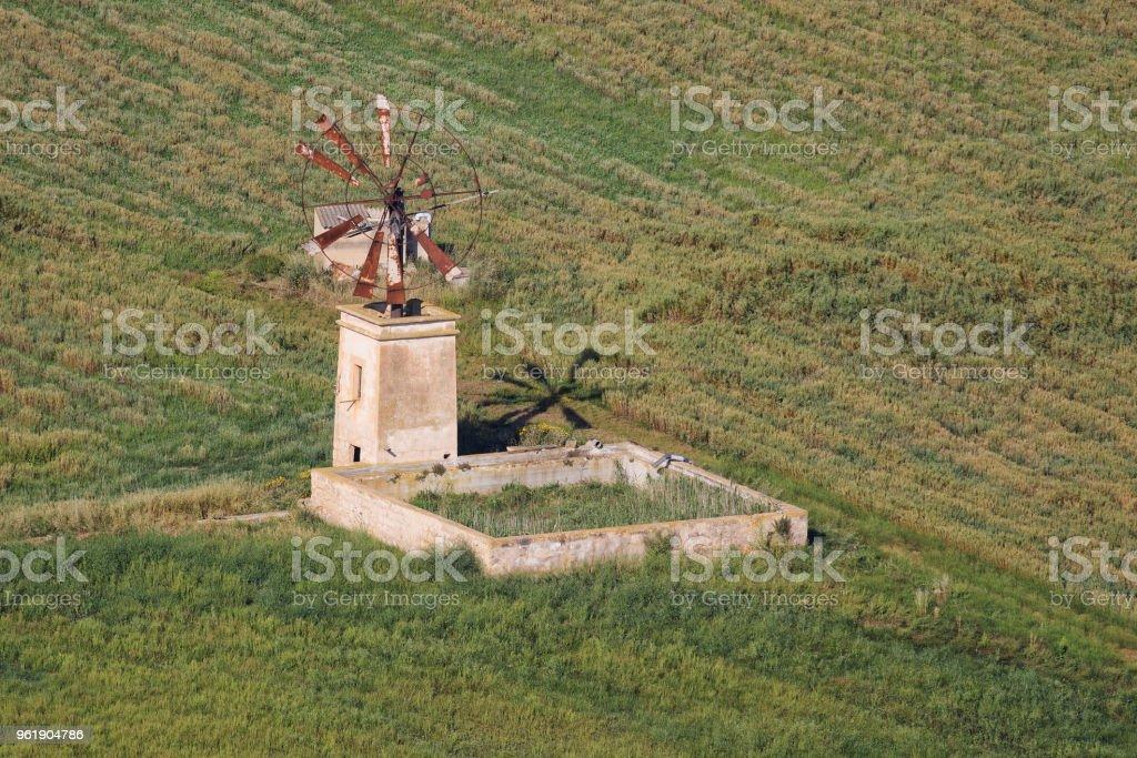 The beautiful island in Spain stock photo