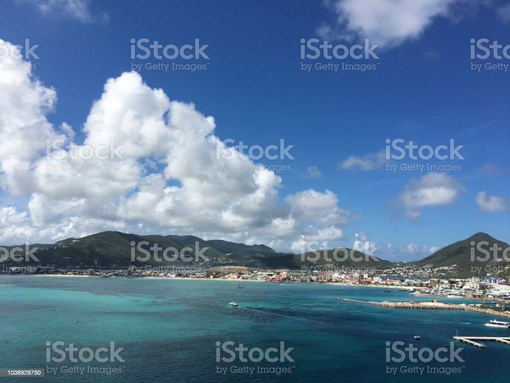 La Isla Del Holandés St Maarten Foto De Stock Y Más Banco De