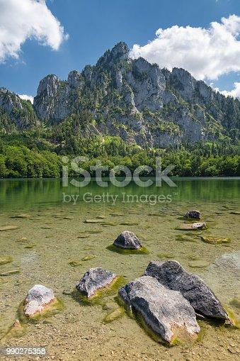 istock The beautiful Laudachsee with Mountain Katzenstein, Austrian Alps, Austria 990275358