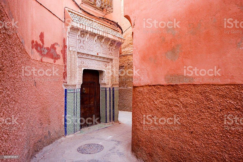The beautiful Medina of Marrakesh royalty-free stock photo