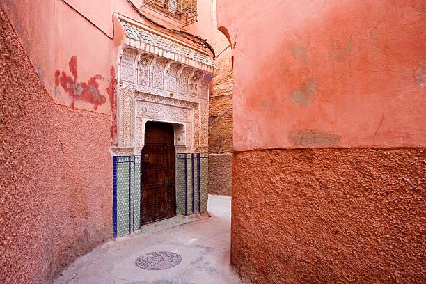 The beautiful Medina of Marrakesh stock photo