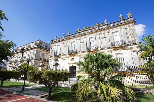 The beautiful Merida Paseo Montejo stock photo