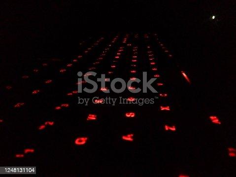 1145626150 istock photo The beautiful modern keyboard. 1248131104