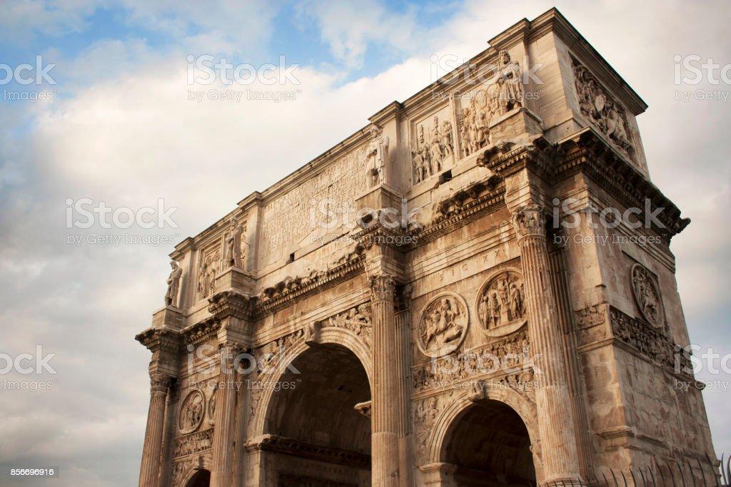 O Arco de Constantino - foto de acervo