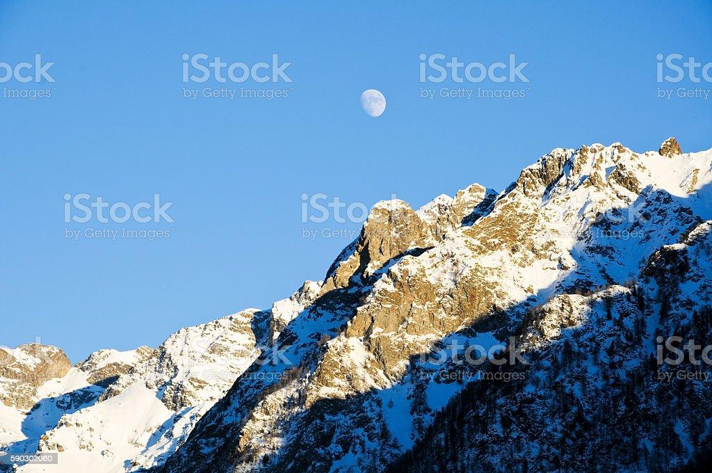 the beautiful mountains around bionaz in Valle d'Aosta,italy royaltyfri bildbanksbilder