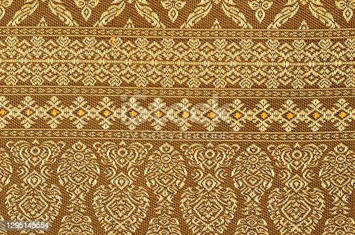 The beautiful of art pattern for traditional clothes include batik pattern.