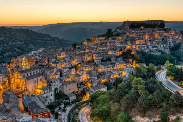 Die schöne Altstadt von Ragusa in Sizilien – Foto
