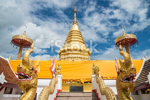 The Wat Phra That Doi Kham is an attractive not much visited temple known for its 17 meters high Buddha image. The temple that was built towards the end of the 7th century sits on top of a forested hill just outside of Chiang Mai.