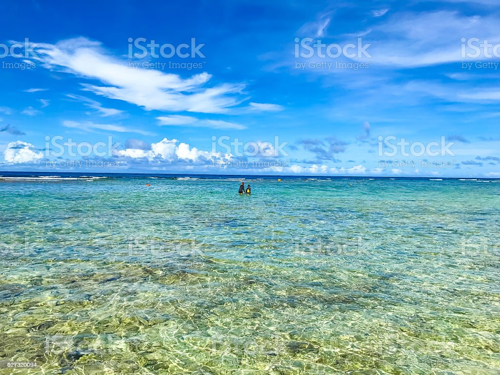 The beautiful sea stock photo