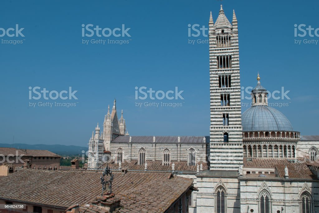 The beautiful Siena,the dome royalty-free stock photo