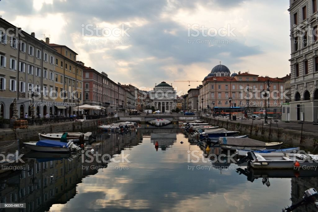 The beautiful Trieste, Italy