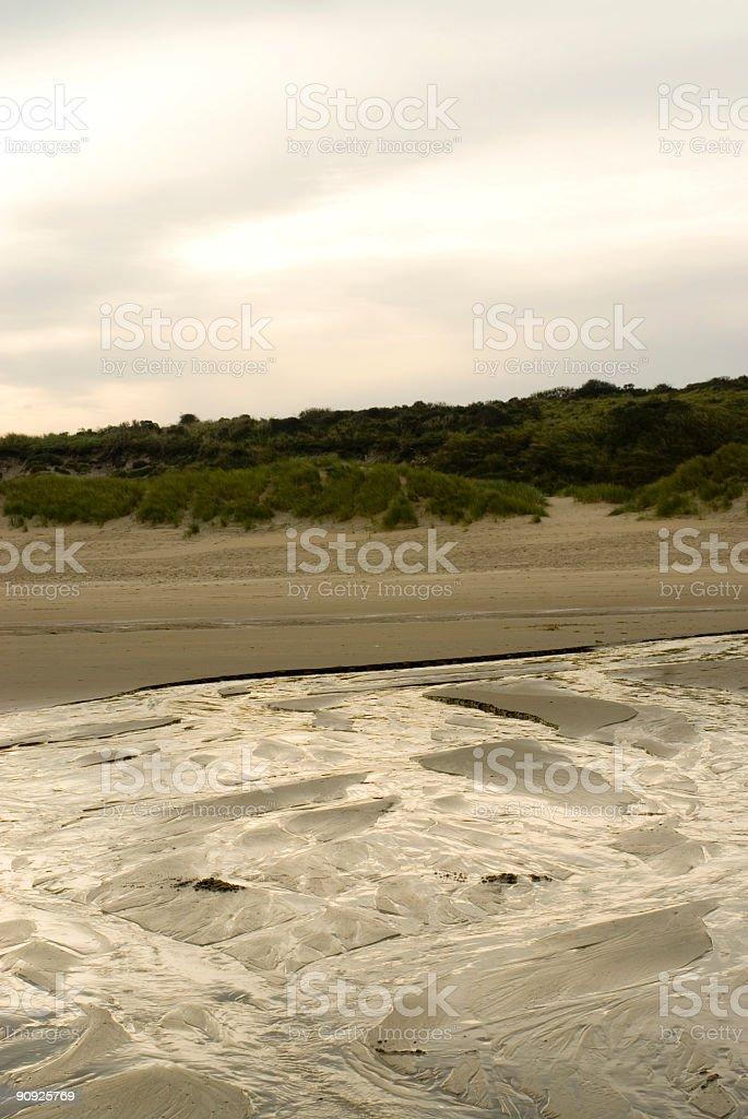 The beauty of ebb tide stock photo