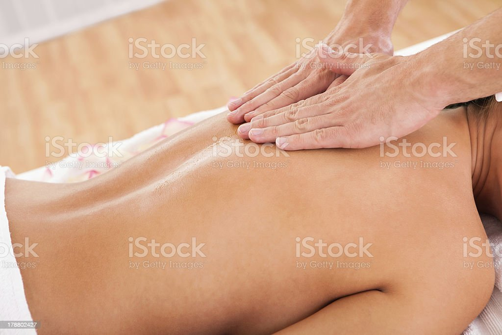 The beauty of experienced hands royalty-free stock photo