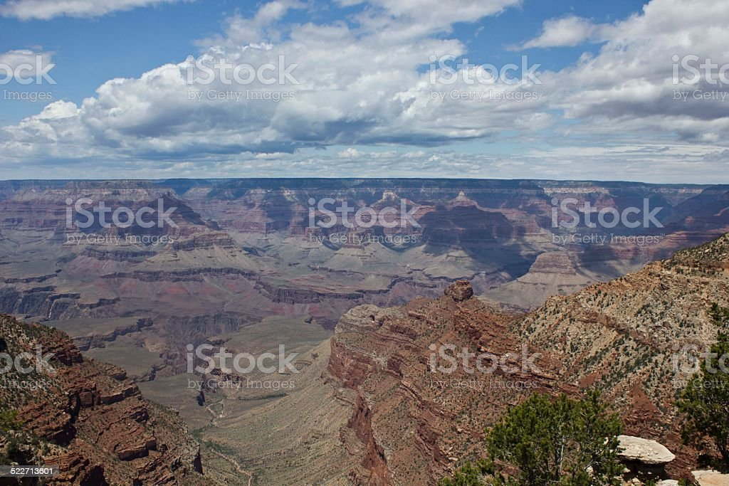 The beauty of Grand Canyon stock photo