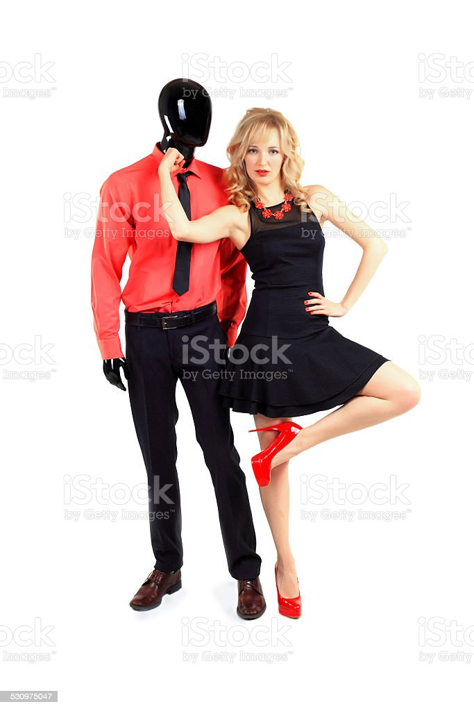 The Beauty of Strong Women stock photo