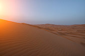 istock The beauty of the sand dunes in the Sahara Desert in Morocco. The Sahara Desert is the largest hot desert and one of the harshest environments in the world. 1191767473