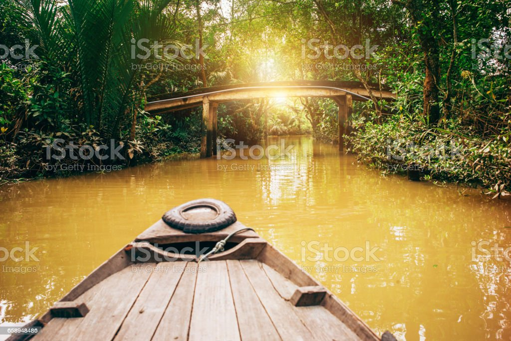 The beauty of Vietnam stock photo