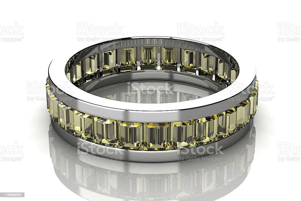 The beauty wedding ring royalty-free stock photo