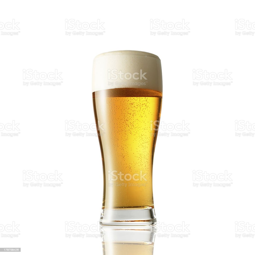 the beer royalty-free stock photo