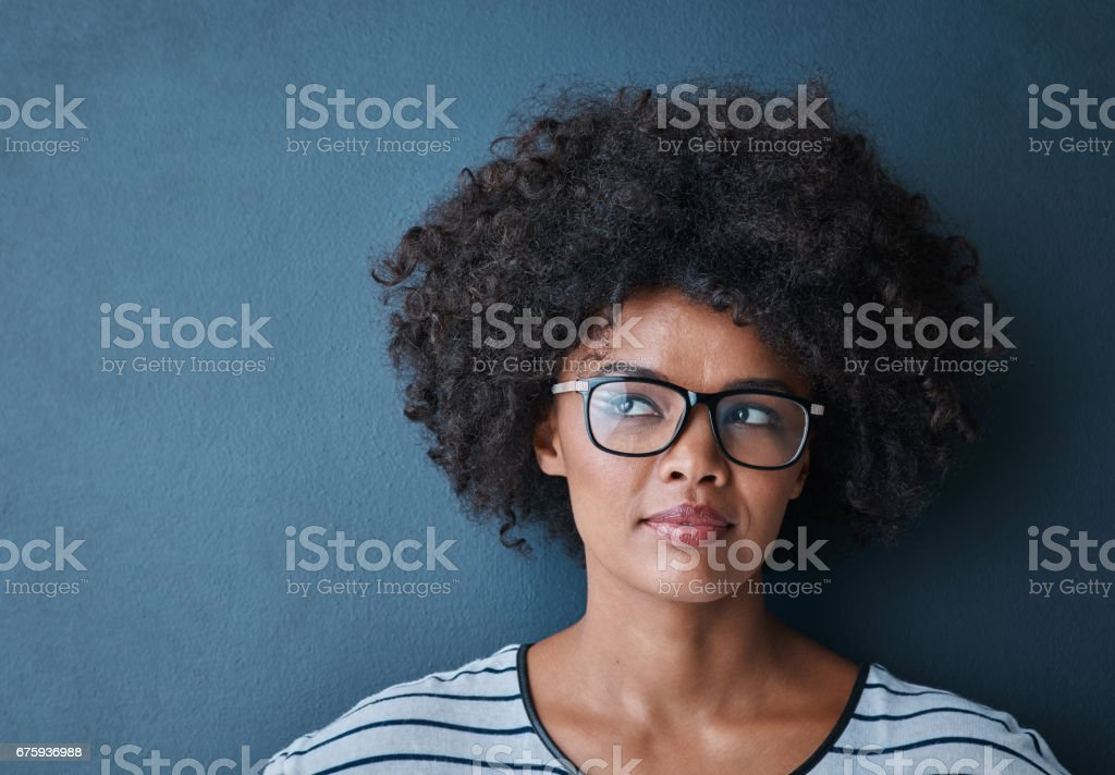 The beginning of a bright idea stock photo