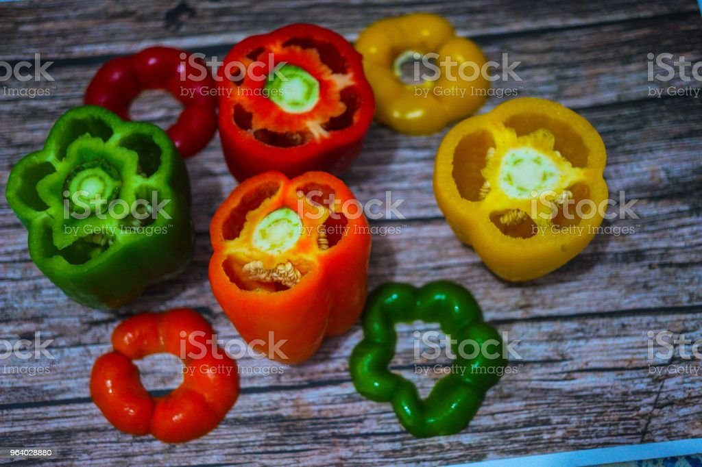 The Bell Peppers - Royalty-free Bell Pepper Stock Photo