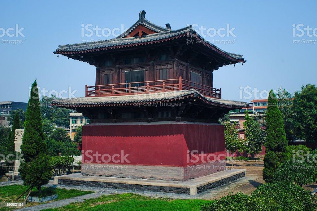 Der Glockenturm Xumi Pagode, Kaiyuan-Tempel, der Zhengding county – Foto
