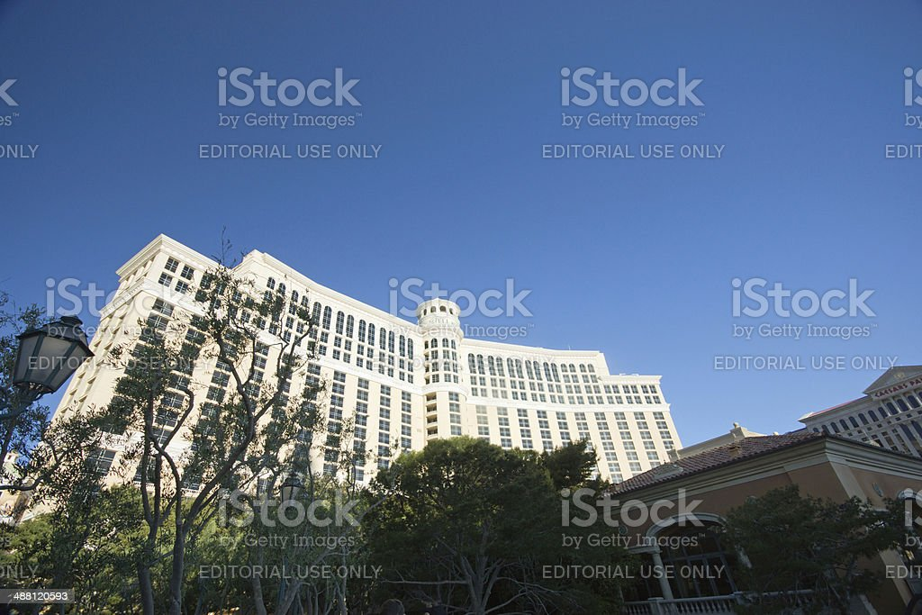 The Bellagio hotel and casino stock photo