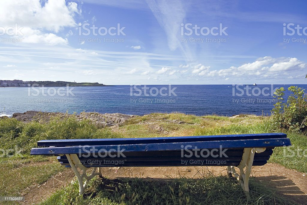 The Bench royalty-free stock photo
