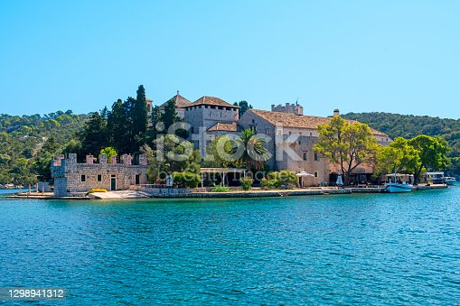 The Benedictine Monastery complex also includes Church of St. Mary at St Marys Islet in Mljet National Park.Mljet island is one of the Croatian islands that is also a National Park. Historically considered as one of Dubrovnik's islands
