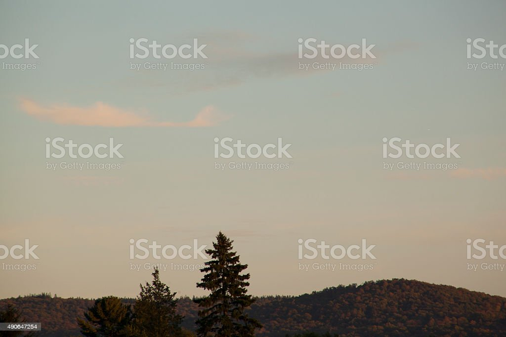The Berkshires stock photo