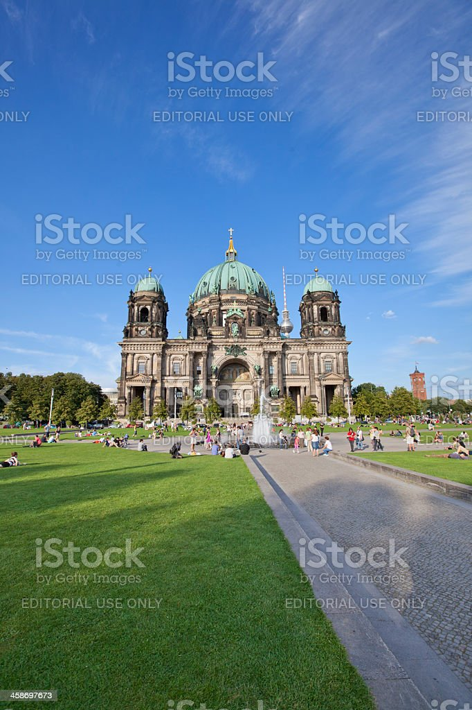 The Berlin Dome Cathedral royalty-free stock photo
