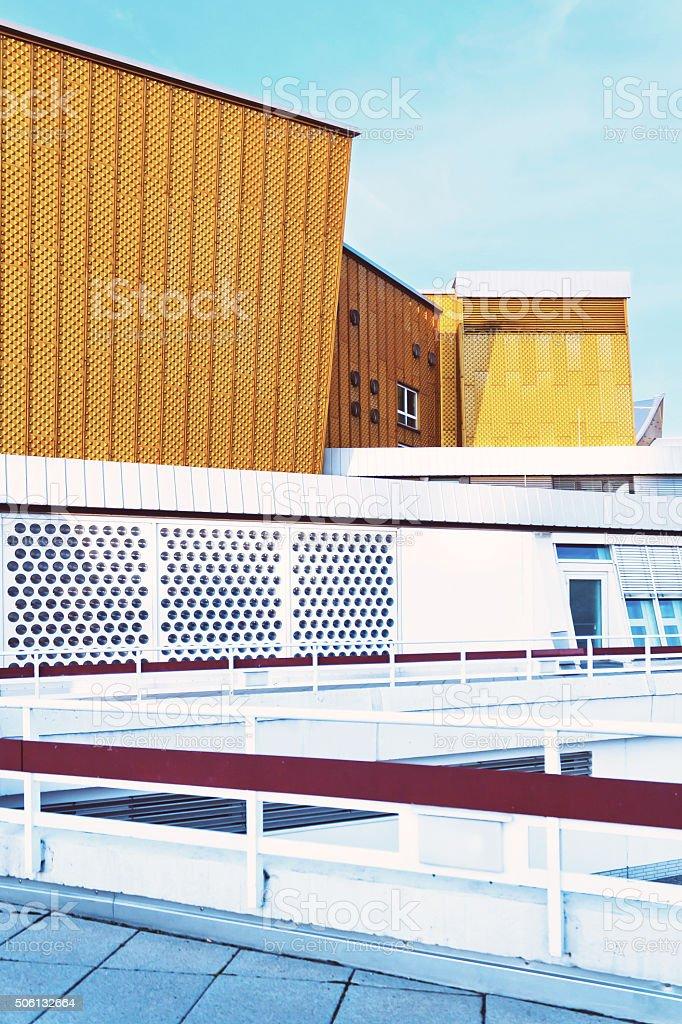 The Berlin Philharmonic stock photo