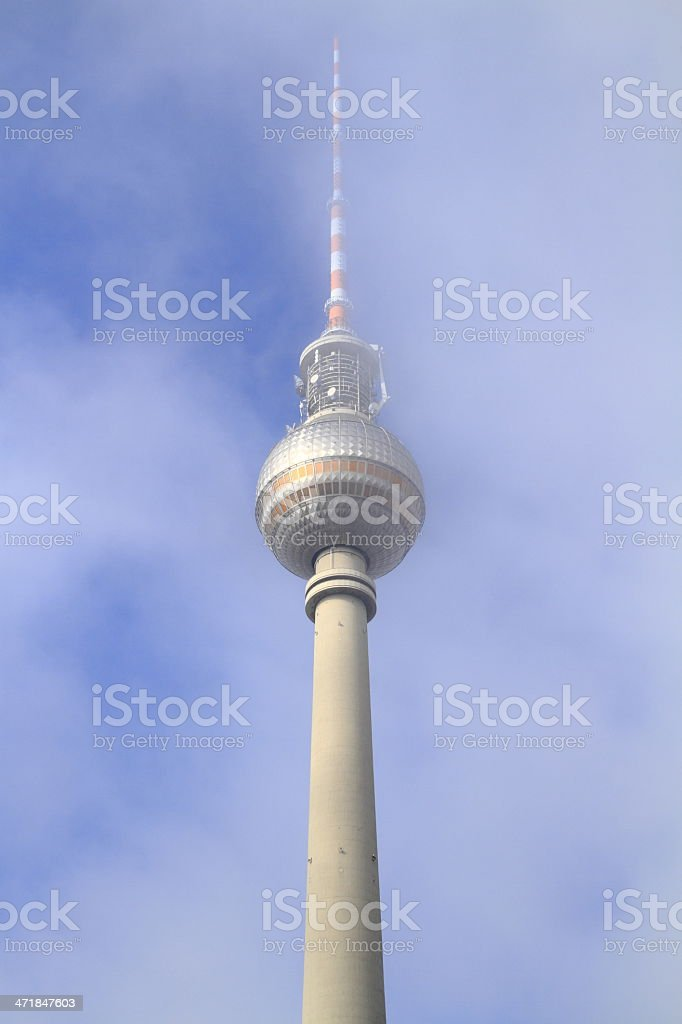 The Berlin TV Towe royalty-free stock photo