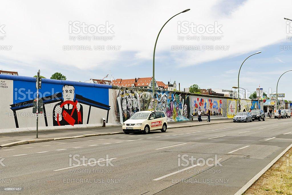 The Berlin Wall stock photo