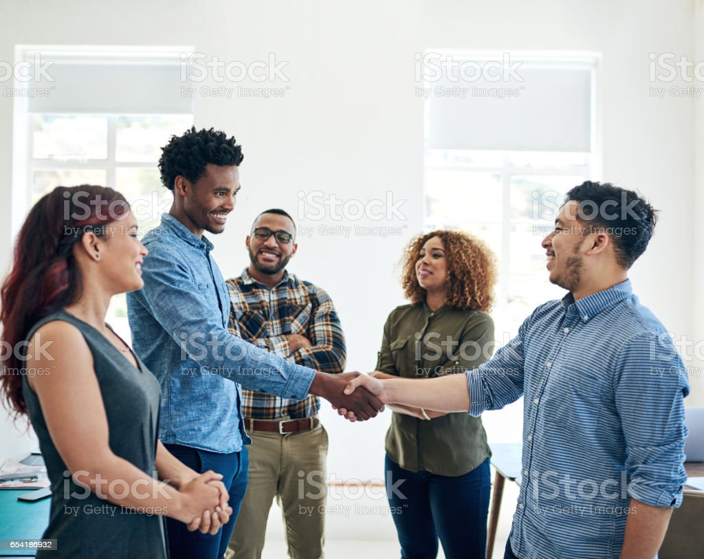 The best deal for everyone on board stock photo