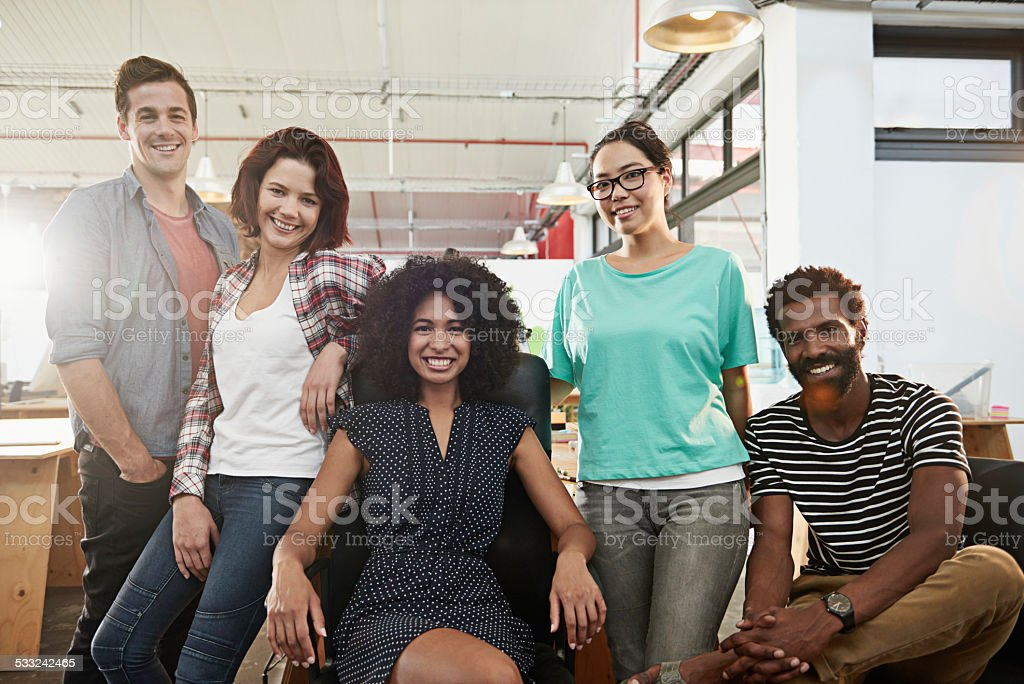 The best in the business stock photo