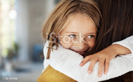 Shot of a woman spending quality time at home with her little girl