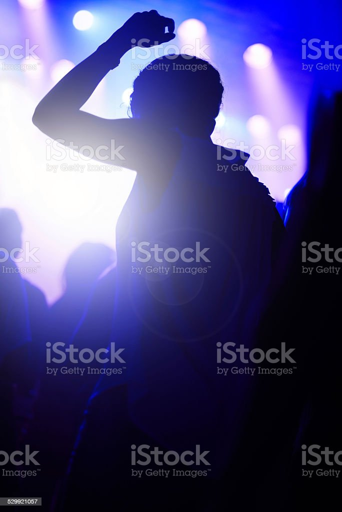 The best live show ever! stock photo