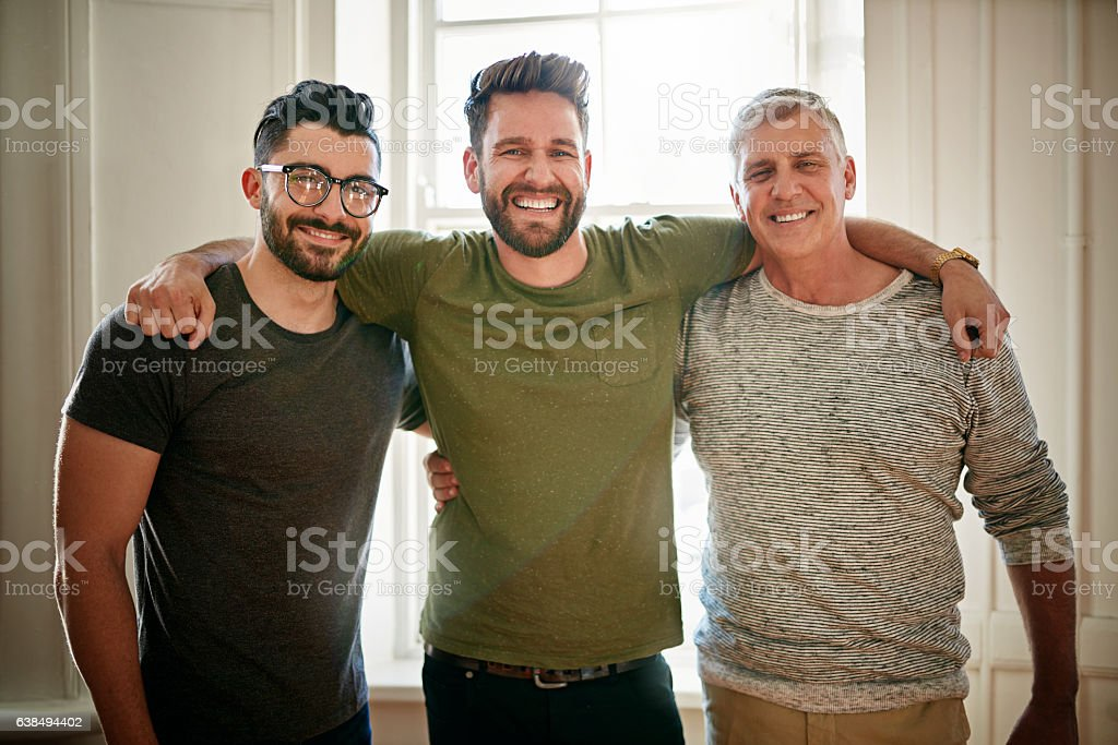 The best mates and team mates stock photo