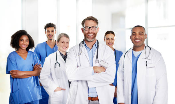 The best medical team a patient could hope for stock photo