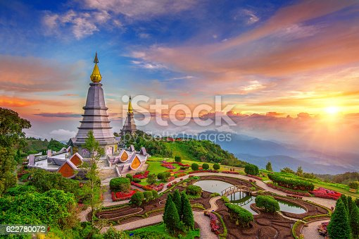 istock The best of landscape in Chiang mai. Inthanon mountain. 622780072