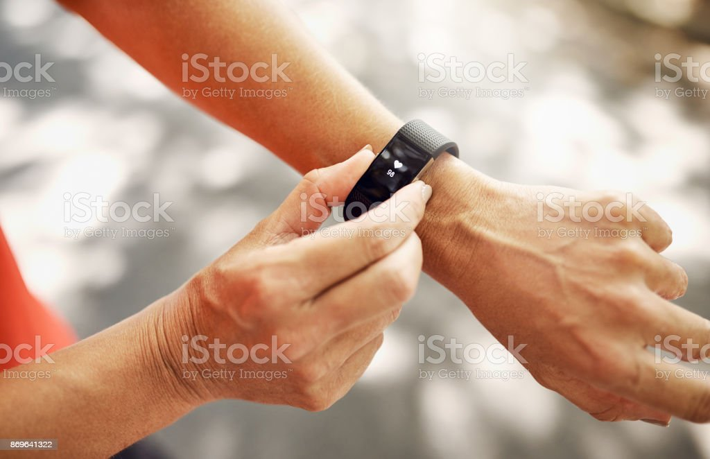 The best piece of tech for your wrist stock photo