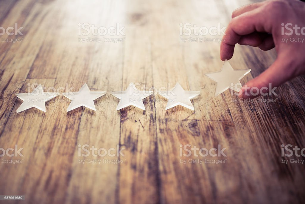 The best rating - foto de stock