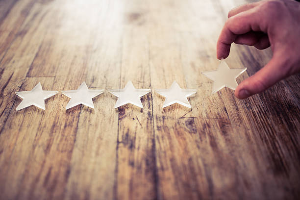 the best rating - star shape stock photos and pictures