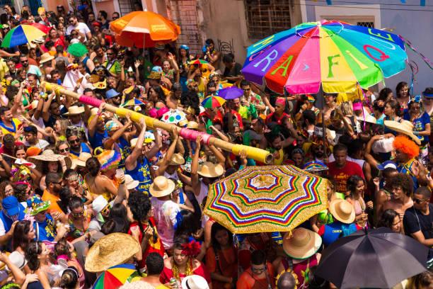 o melhor carnaval de rua do mundo - recife e olinda - fotografias e filmes do acervo